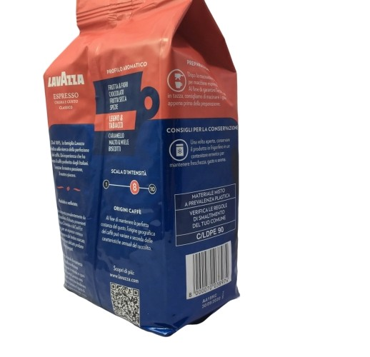 """Кофе в зернах """"Lavazza Espresso crema e gusto classico """" 1 кг"""