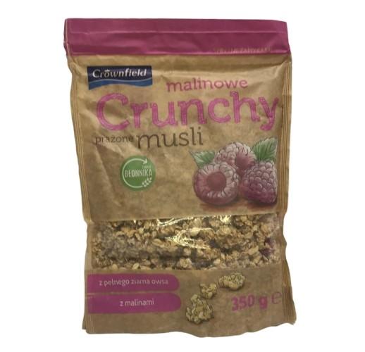 Crunchy Crownfield мюсли с малиной