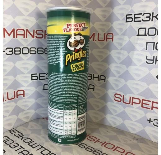 Чипсы Pringles Chesse & Onion 165 г